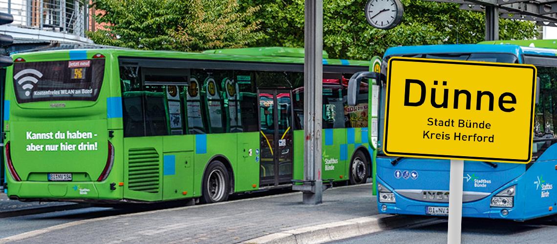 Stadtbus Fahrplan